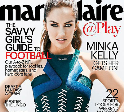 Minka Kelly Is a 'Savvy Girl' When It Comes to Football