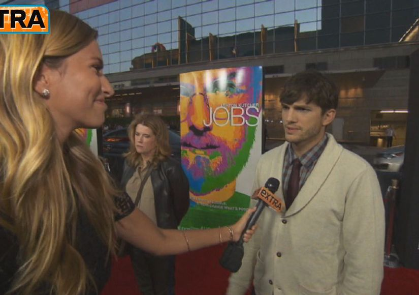 Ashton Kutcher on New 'Men' Co-Star Amber Tamblyn: 'She's Amazing!'