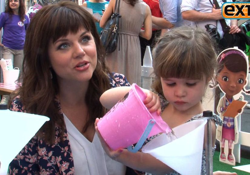Video! Tiffani Thiessen at the Doc Mobile Event