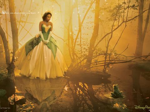 Jennifer Hudson's Disney Princess Photo Shoot with Annie Leibovitz