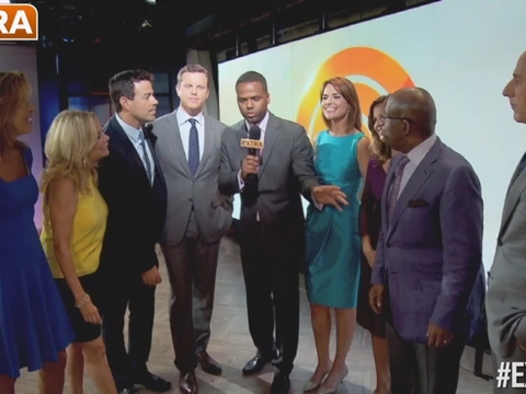 today show universal studios sweepstakes matt lauer and savannah guthrie on today s hot topics 5447