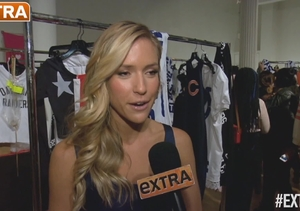 Kristin Cavallari Shows Off NFL-Themed Collection at NY Fashion Week