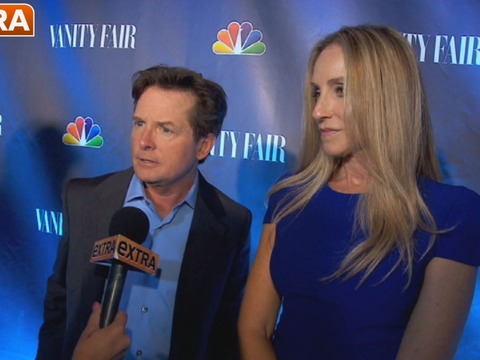 Video! At the NBC Fall TV Premiere Party with Michael J. Fox and Others
