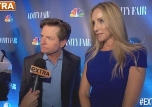 At the NBC Fall TV Premiere Party with Michael J. Fox and Others