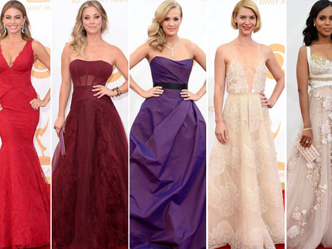 Emmy Awards 2013: Red Carpet Fashion Trends