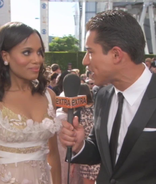 'Extra' at Emmys 2013: On the Red Carpet