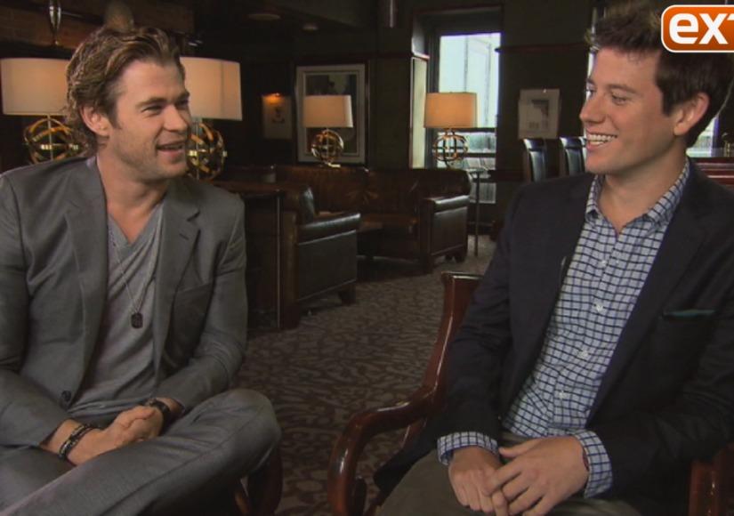 Video! 'Rush' Star Chris Hemsworth on Fitting into a Formula One Car