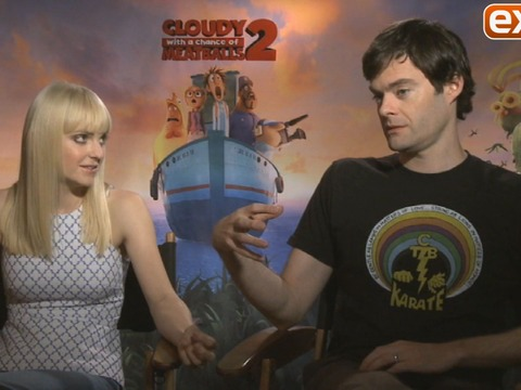 'Cloudy with a Chance of Meatballs 2' Cast Talks the Glory of…