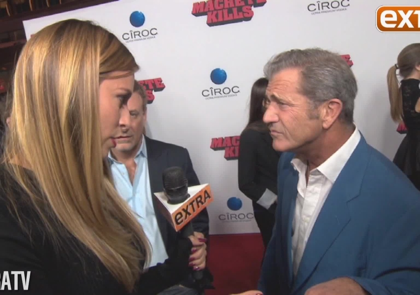 Mel Gibson on 'Machete Kills' and Rumored Police Run-in