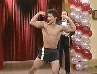 Mario Lopez Turns 40… Celebrate with a Flexing AC Slater!