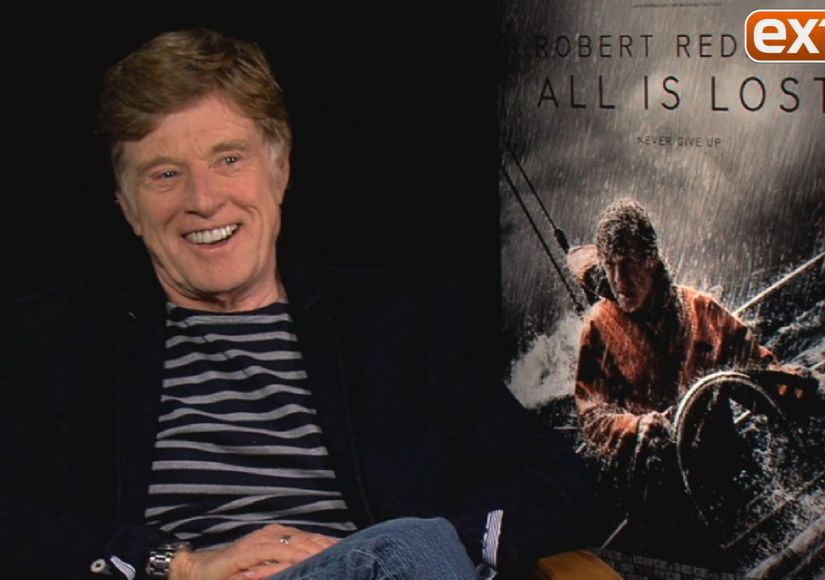 Robert Redford on Doing His Own Stunts in 'All Is Lost'