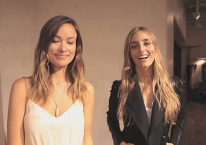 Olivia Wilde at Anthropologie for Yoana Baraschi/Conscious Commerce…