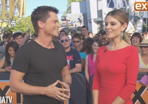 Rob Lowe on Zac Efron: 'He's Been a Good Addition to My Life'