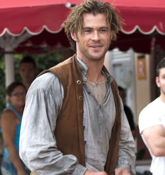 "Chris Hemsworth filmed scenes for ""In the Heart of the Sea"" in the Canary…"