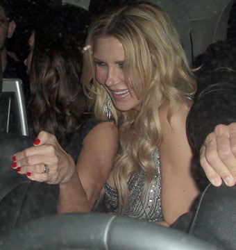 Was Brandi Glanville Carried Out of Her Birthday Party Falling-Down Drunk?