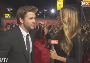 """'Extra' on the Red Carpet at """"The Hunger Games: Catching Fire"""" Premiere!"""