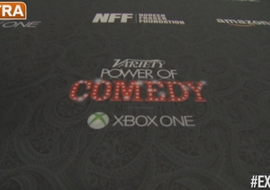 On the Red Carpet at Variety's Power of Comedy Gala