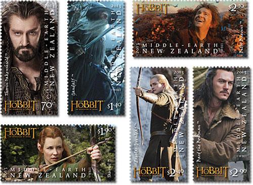 Hobbit-Stamps
