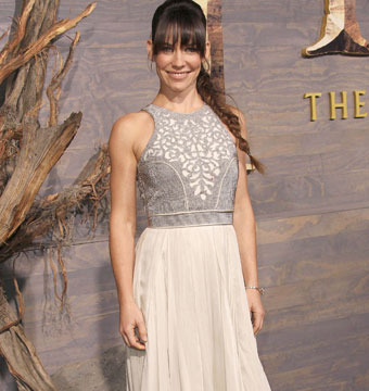 "Evangeline Lilly attended ""The Hobbit: The Desolation of Smaug"" premiere in…"