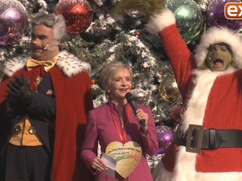 Florence Henderson Honored by The Grinch at Universal Studios Hollywood