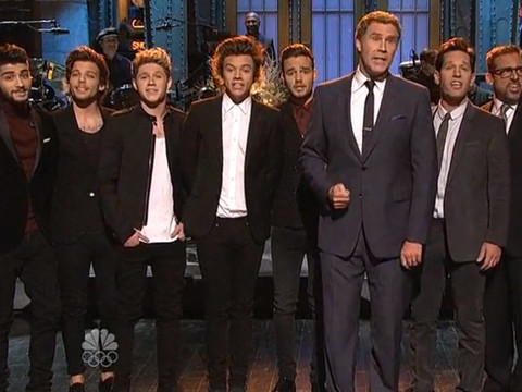 Hilarious 'SNL' Video: One Direction vs. Paul Rudd and His 'Man Band'