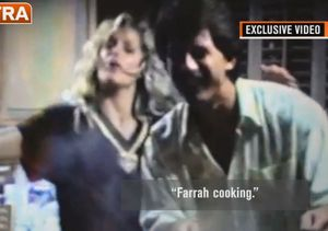 Rare, Old Home Video of Ryan O'Neal and Farrah Fawcett