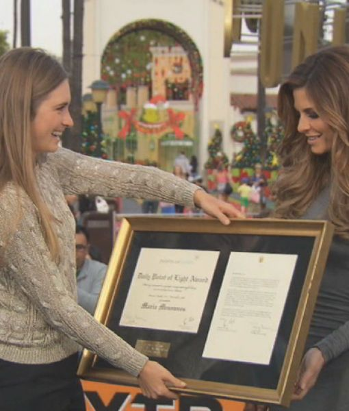Lauren Bush Honors Maria Menounos with Points of Light Award