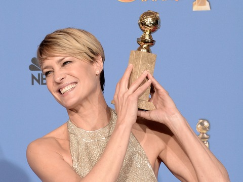 Golden Globes Wardrobe Malfunctions: Robin Wright, Kelly Osbourne and Others!
