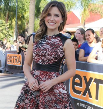 Sophia Bush Has a Gun, and She Knows How to Use It