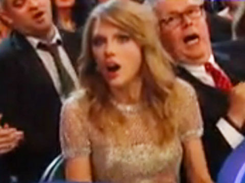 Video! Did Taylor Swift Think She Won Album of the Year at the…