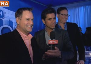 It's a 'Full House' Reunion! 'Extra' Hangs with John Stamos, Bob Saget, and…
