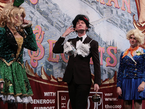 Pics! Neil Patrick Harris Accepts Hasty Pudding Award in Drag