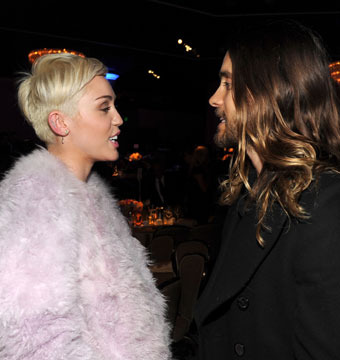 Miley Cyrus and Jared Leto Reportedly Hooking Up!