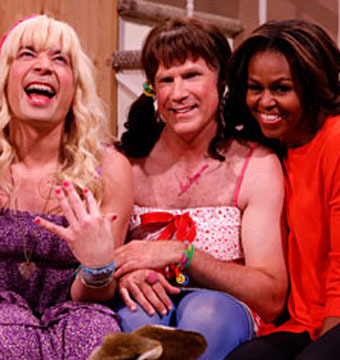 See Michelle Obama's Hilarious 'Ew' Skit with Jimmy Fallon and Will Ferrell