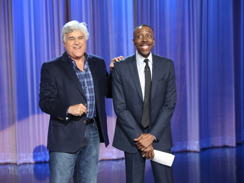 Video! 'Arsenio Hall' Announces Season 2… with a Little Help from Jay Leno