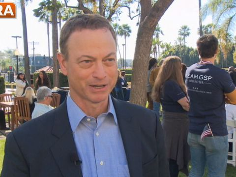 Video! Gary Sinise Honors Wounded Veterans at 'Hollywood Salutes Heroes'