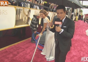 Oscars 2014: Mario Lopez Hangs with the Stars on the Red Carpet