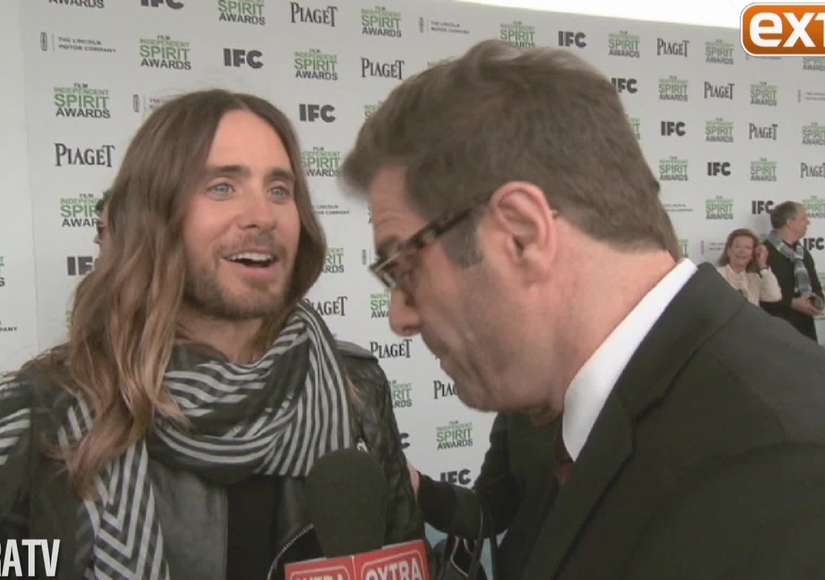 'Extra' Hangs Out on the Red Carpet at the Spirit Awards