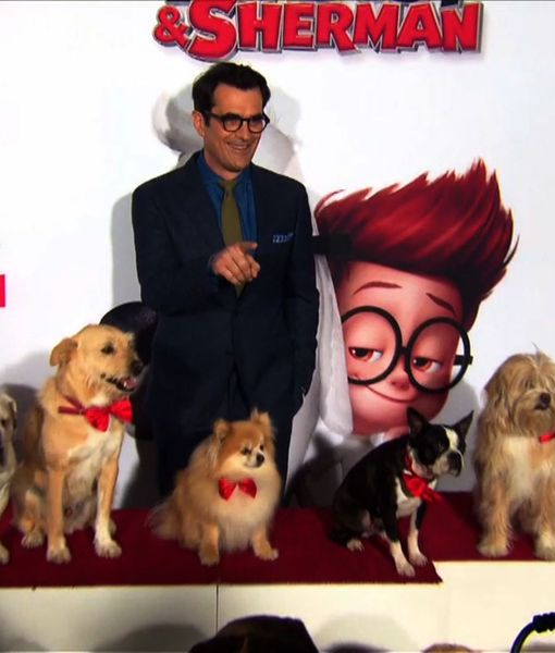 Dogs Take Over the Red Carpet at 'Mr. Peabody & Sherman' Premiere