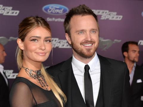 Aaron Paul Nearly Married Lauren Parsekian on First Date
