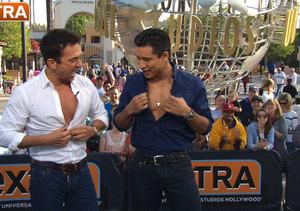Bruno Tonioli and Mario Lopez Unbutton Their Shirts, Preview Season 18 of…