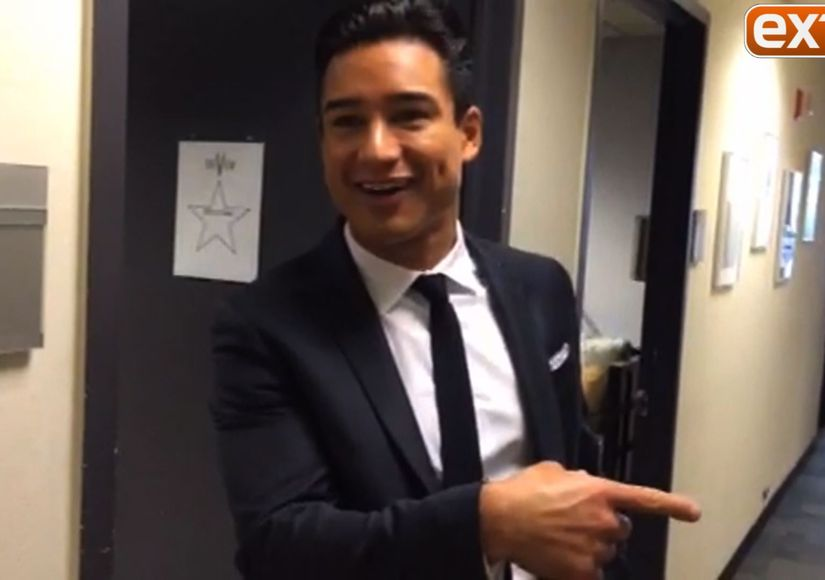 Behind-the-Scenes Video! Check Out Mario Lopez on 'The View'