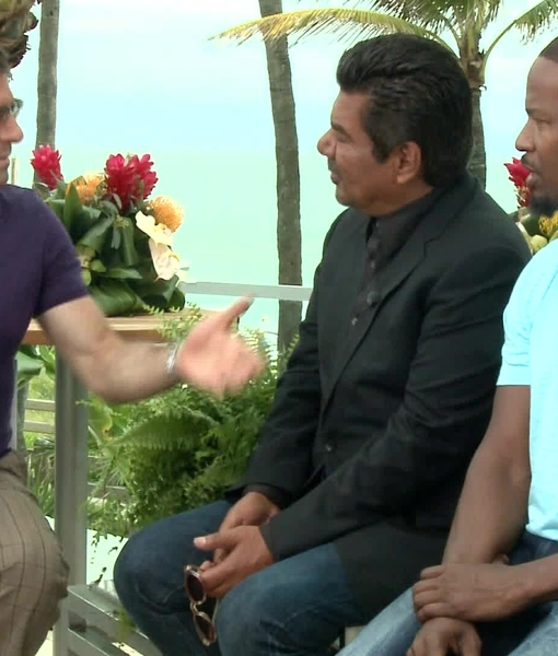 'Rio 2' Stars Jamie Foxx and George Lopez on Their Love Lives… or Lack…
