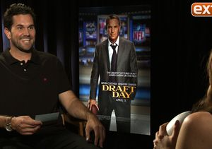 Matt Leinart Quizzes Cast of 'Draft Day' on Football Jargon