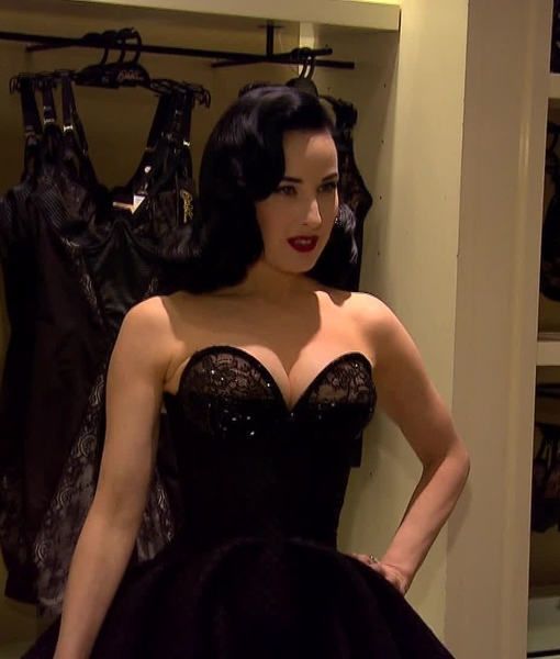 Video! Dita Von Teese Launches Sexy New Lingerie Line