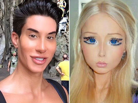 Ouch! Human Ken Disses Human Barbie