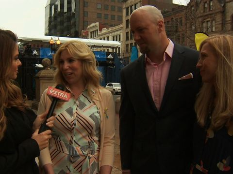 Boston Marathon Bombing Victim Heather Abbott Reunites with Rescuers