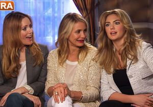 How Cameron Diaz, Leslie Mann and Kate Upton Would Deal with a Cheater in Real…