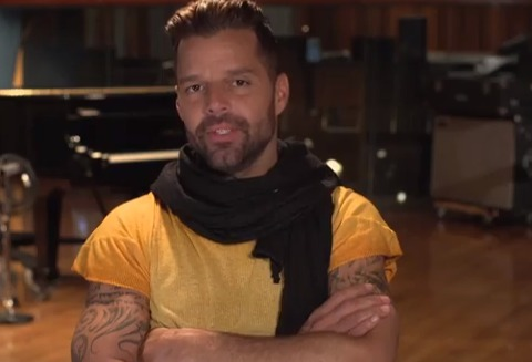 Video! Behind the Scenes of Ricky Martin's 'SuperSong'