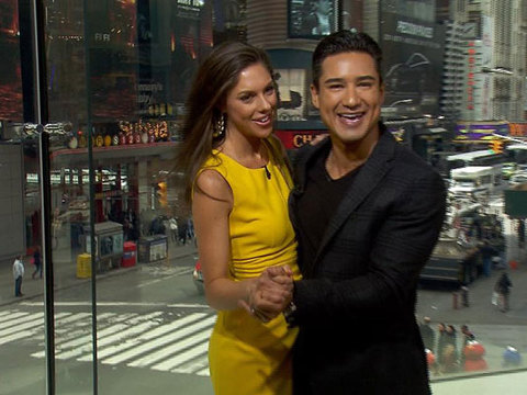 Abby Huntsman Talks Chelsea Clinton and 'DWTS' with Mario Lopez